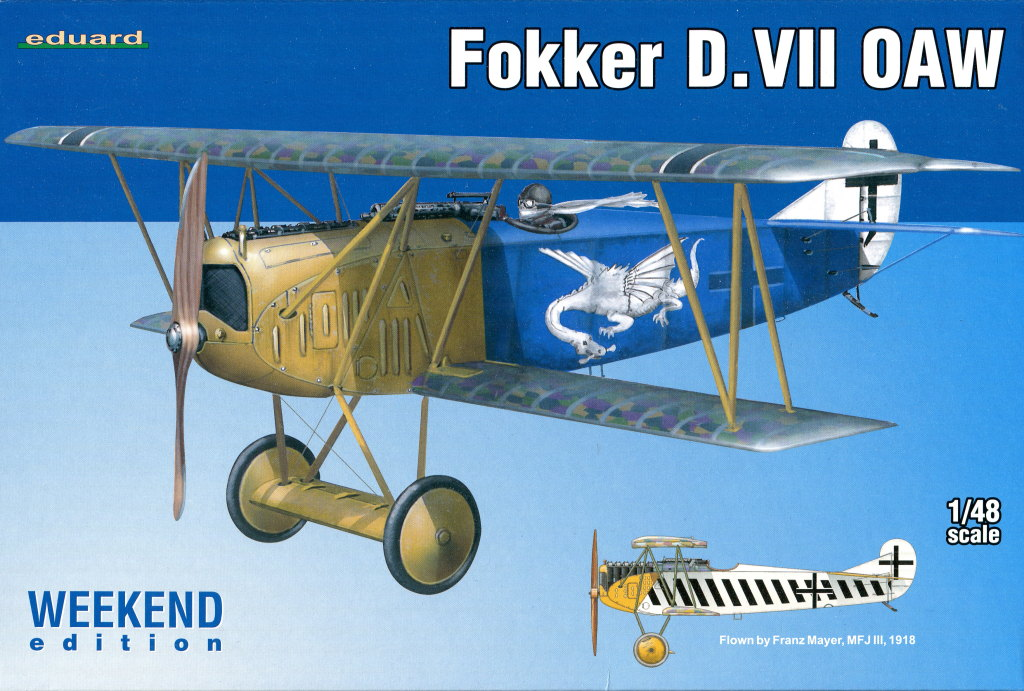 Eduard_D.VII-OAW_WE_15 Fokker D-VII OAW - Eduard Weekend Edition + Zubehör - 1/48 --- #84155