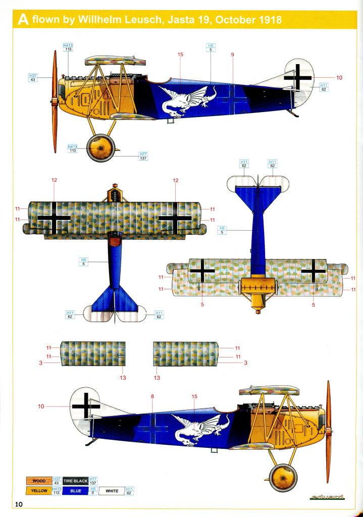 Eduard_D.VII-OAW_WE_31 Fokker D-VII OAW - Eduard Weekend Edition + Zubehör - 1/48 --- #84155