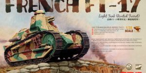French FT-17 Light Tank Riveted Turret (Meng TS-011)