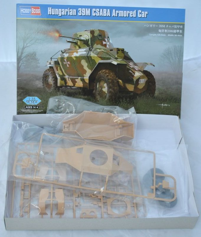 Hungarian Armoured Car  U201ecsaba U201c  Hobby Boss 1 35