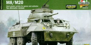 M8 / M20 Greyhound von Italeri /Warlord Games # 15759 (1:56)