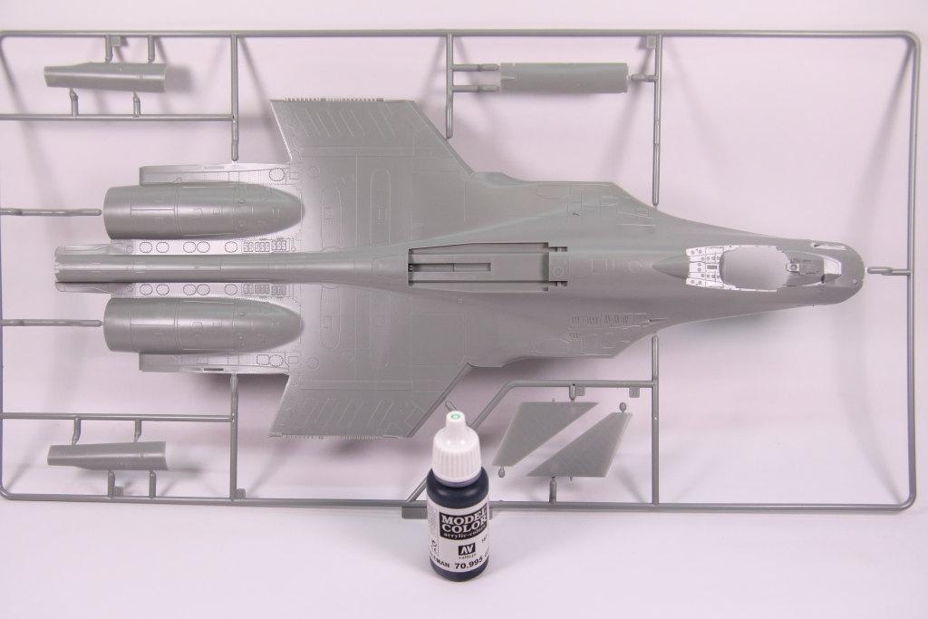 Kinetic_Su-33_003 Su-33 Flanker D  -  Kinetic  1/48 --- #48062