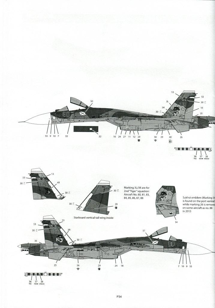 Kinetic_Su-33_124 Su-33 Flanker D  -  Kinetic  1/48 --- #48062