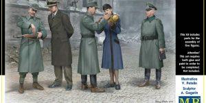 Figurengruppe Volkssturm ( MasterBox 35172 1:35)