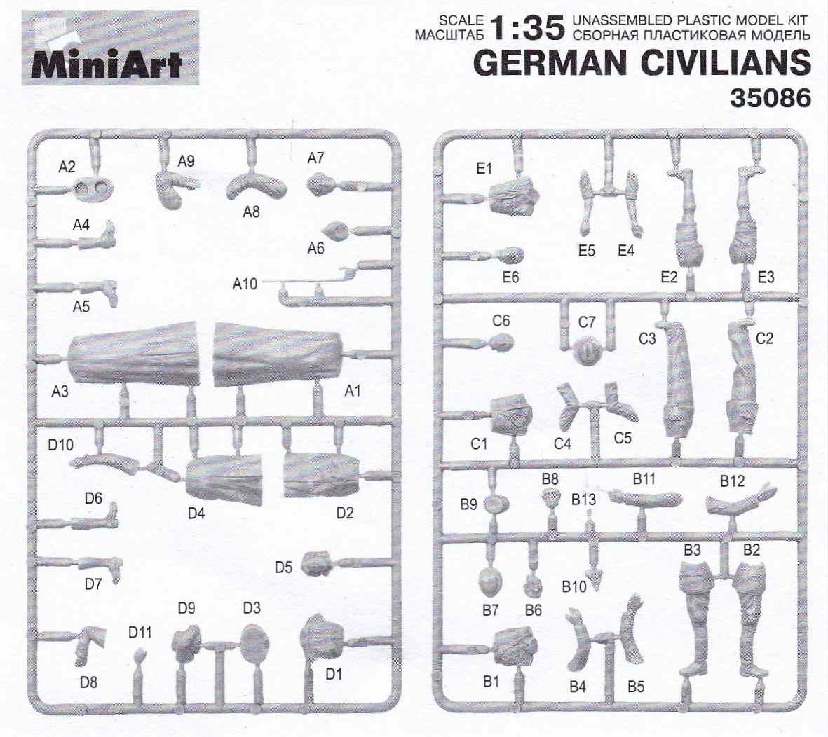 MiniArt-35086-German-Civilians-17 Figurenset German Civilians von MiniArt # 35086