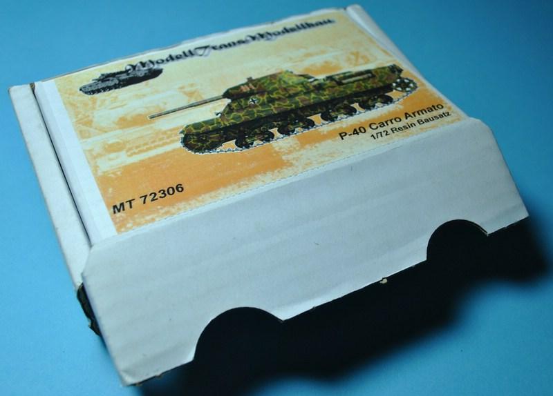 ModellTrans-72306-P-40-Carro-Armato-19 Carro Armato P.40 von Modelltrans ( MT 72306 ) im Maßstab 1:72