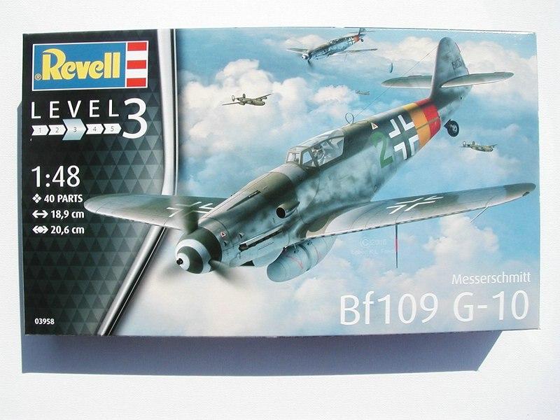 Revell-03958-Messerschmitt-Bf-109-G-10-1zu48-1 Messerschmitt Bf 109 G-10 von Revell ( 1:48 )