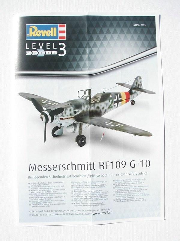 Revell-03958-Messerschmitt-Bf-109-G-10-1zu48-3 Messerschmitt Bf 109 G-10 von Revell ( 1:48 )
