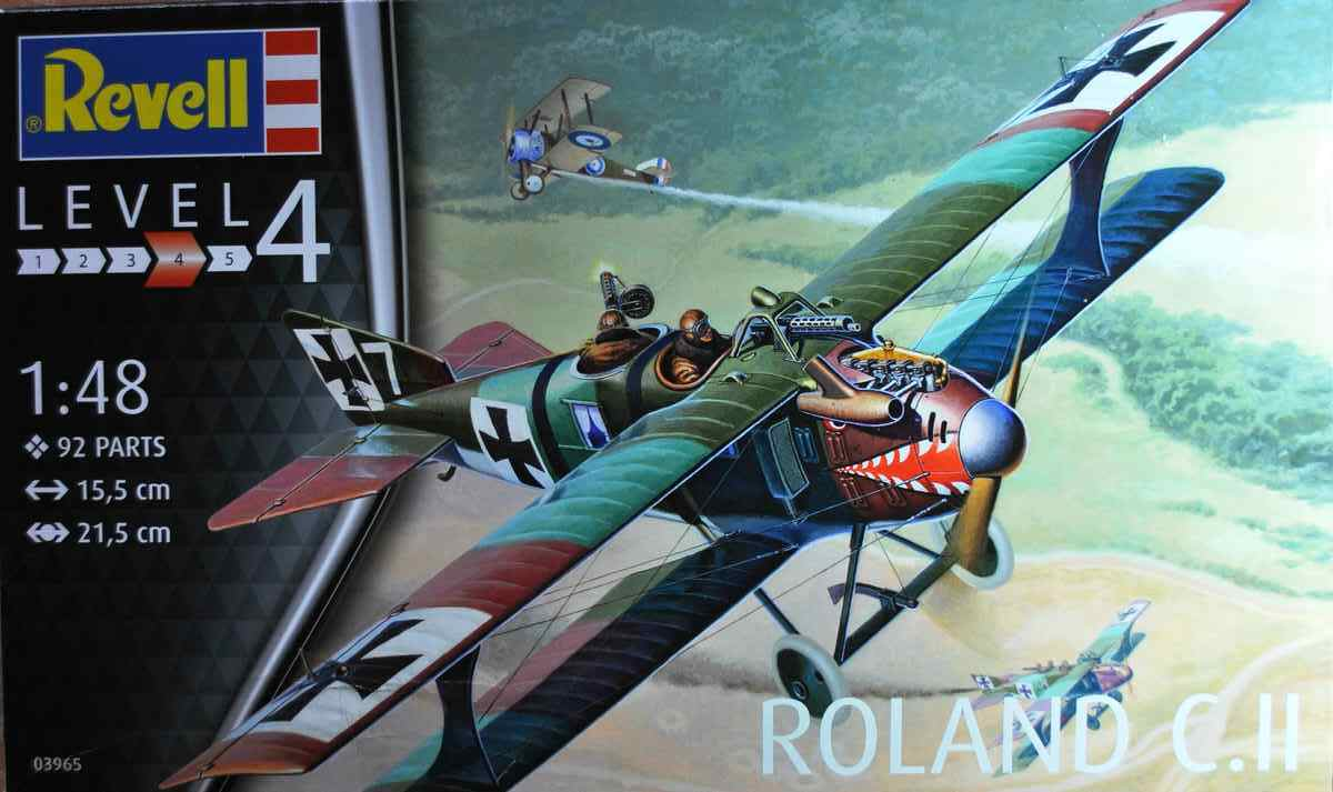 Revell-03965-Roland-C.II-Walfisch-3 Roland C.II Walfisch von Revell im Maßstab 1:48 (# 03965)