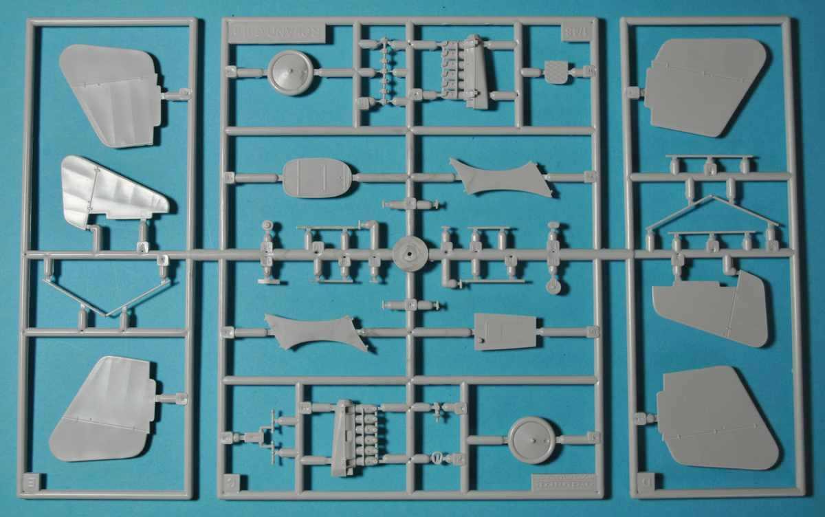 Revell-03965-Roland-C.II-Walfisch-34 Roland C.II Walfisch von Revell im Maßstab 1:48 (# 03965)