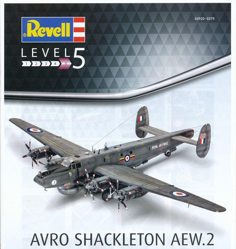 Revell-04920-Avro-Shackleton-Bauanleitung-Blatt-1 Avro Shackleton AEW Mk. 2 von Revell im Maßstab 1:72