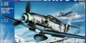Messerschmitt Bf 109 G-6 von Revell ( 04665) im Maßstab 1:32