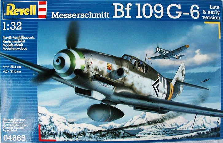 Revell-Me-109-G-6-2 Messerschmitt Bf 109 G-6 von Revell ( 04665) im Maßstab 1:32
