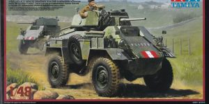 British 7ton Armoured Car Mk. IV ( Tamiya 32587 ) im Maßstab 1:48