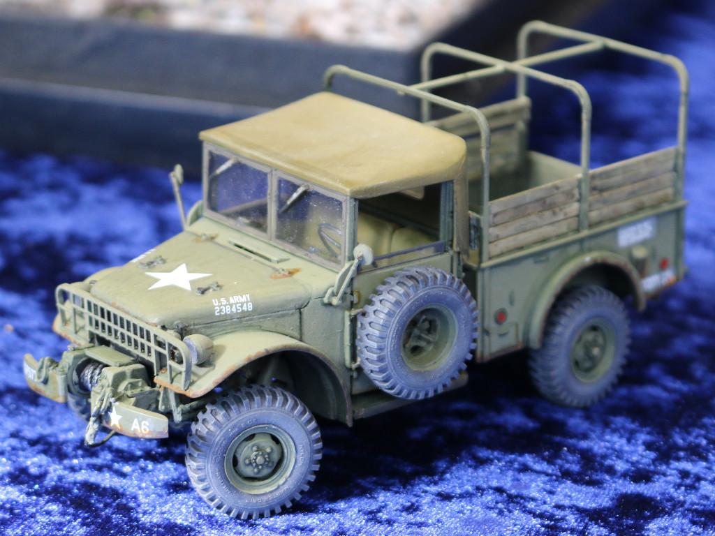6 M37 US 3/4 ton 4x4 Cargo Truck 1:35 Roden (806)