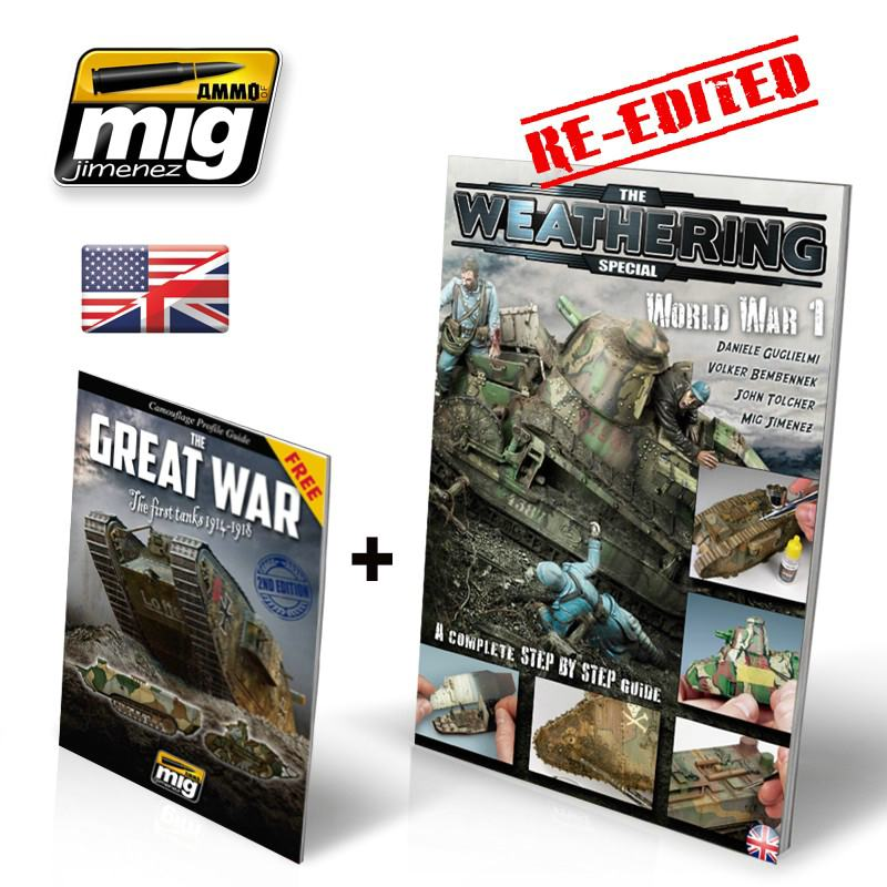 "Ammo-of-MIG-TWM-special-world-war-i-english-version-1 World War One (The Weathering Magazine Special ""The Great War"")"