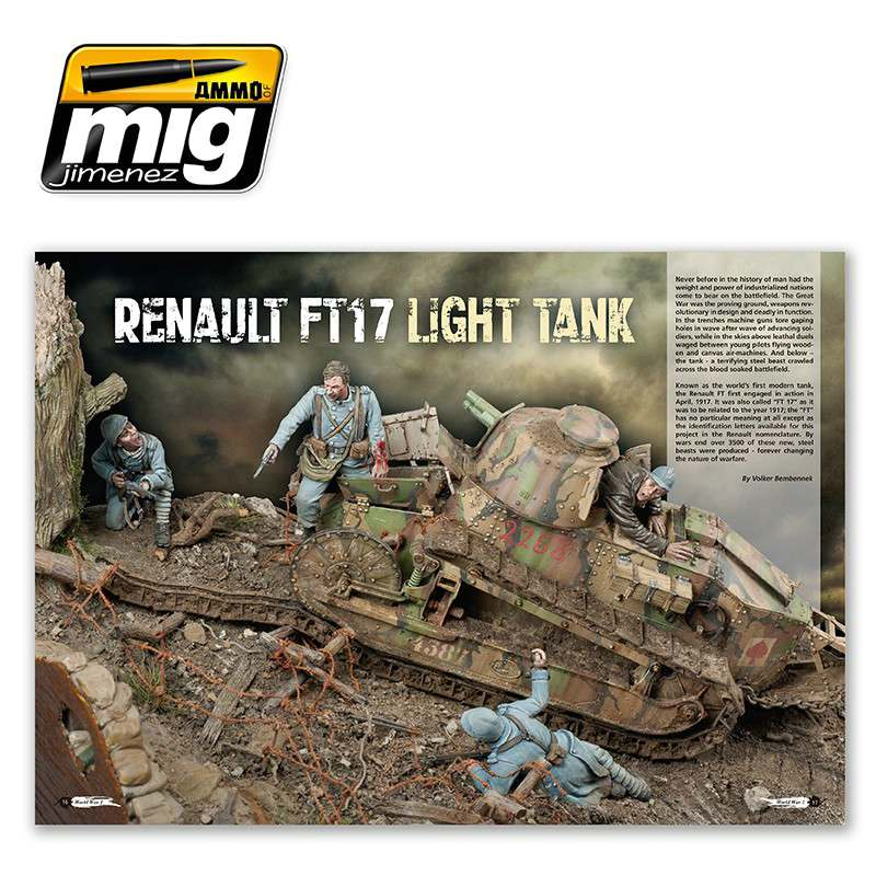 "Ammo-of-MIG-TWM-special-world-war-i-english-version-2 World War One (The Weathering Magazine Special ""The Great War"")"
