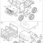 Anleitung11-150x150 M37 US 3/4 ton 4x4 Cargo Truck 1:35 Roden (806)