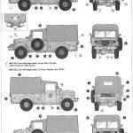Anleitung12-150x150 M37 US 3/4 ton 4x4 Cargo Truck 1:35 Roden (806)