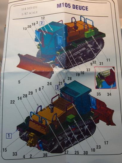 ArsenalM-M-105-Deuce-7 Nachschub für die US-Pioniertruppe - der M105 Deuce von ArsenalM