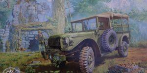 M37 US 3/4 ton 4×4 Cargo Truck 1:35 Roden (806)