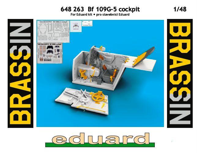 Eduard-648263-Bf-109-G-5-Cockpit-Deckelbild Cockpitdetailset für Bf 109 G-5 ( Eduard 648263 )