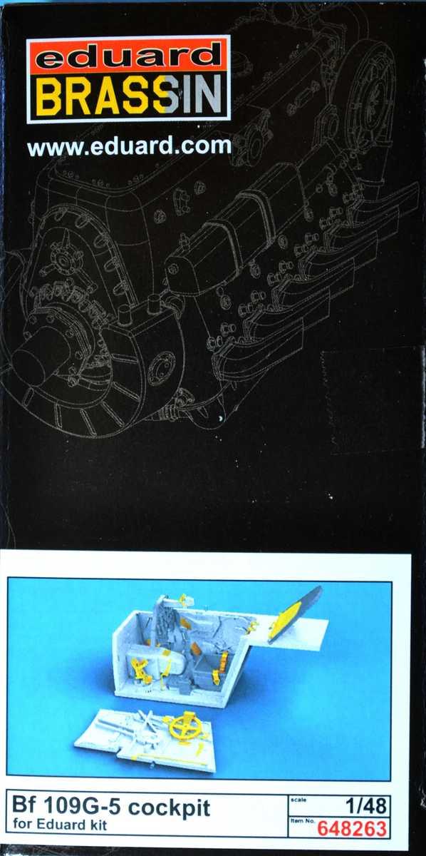 Eduard-648263-Bf-109-G-5-Cockpitset-10 Cockpitdetailset für Bf 109 G-5 ( Eduard 648263 )