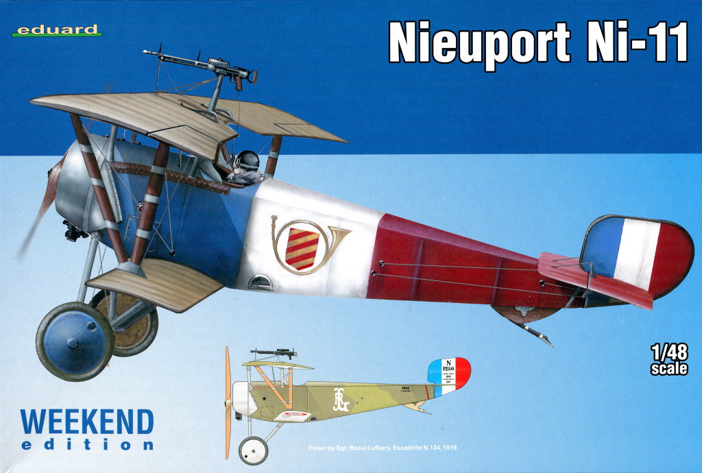 Eduard_Ni-11_Weekend_2016_11 Nieuport Ni-11 - Eduard Weekend Edition 1/48 - BAUSATZ UND ZUBEHÖR