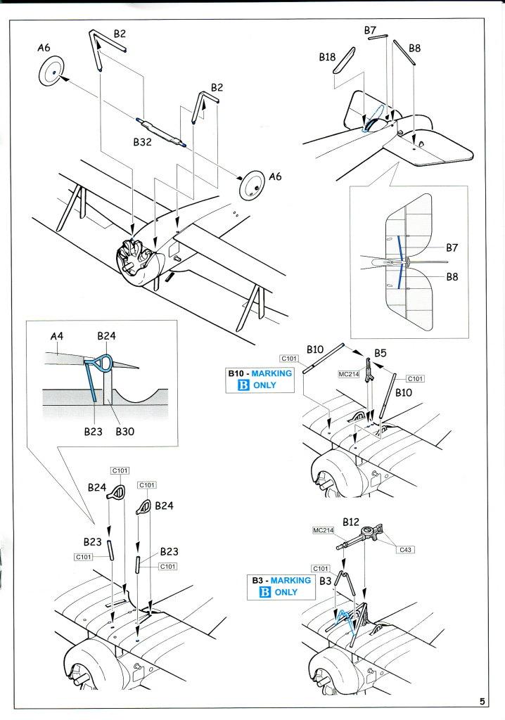 Eduard_Ni-11_Weekend_2016_16 Nieuport Ni-11 - Eduard Weekend Edition 1/48 - BAUSATZ UND ZUBEHÖR