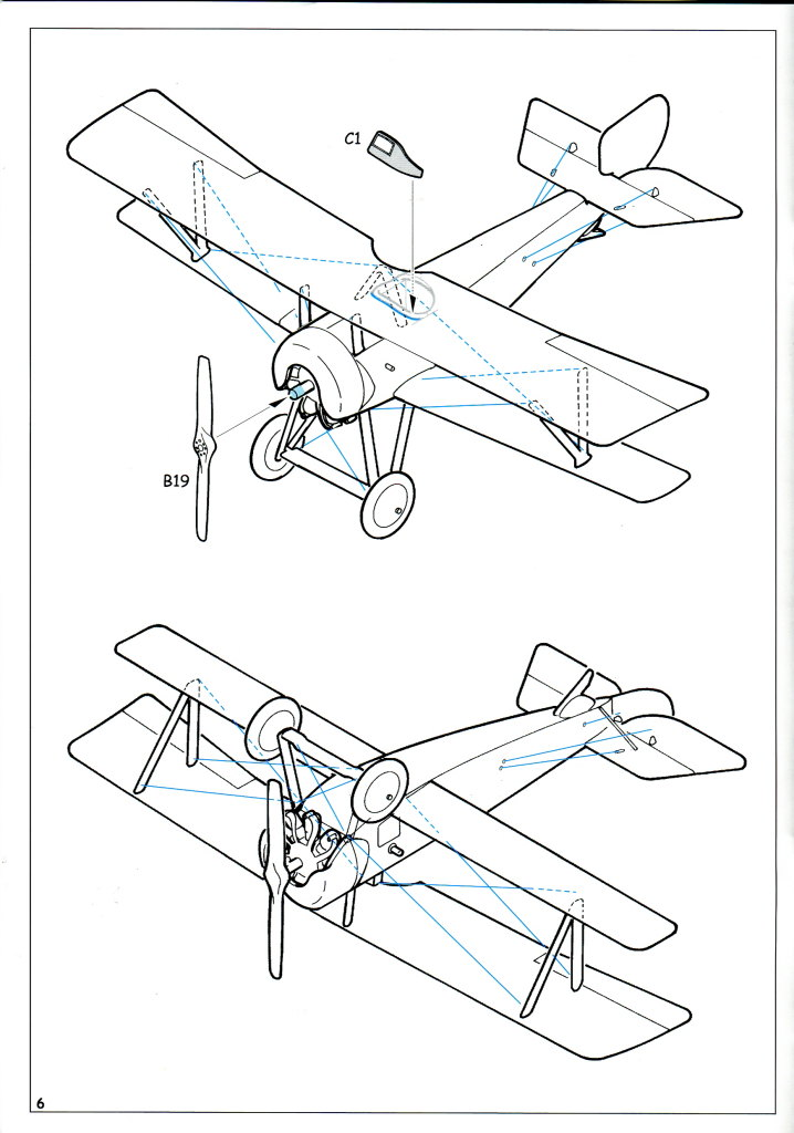 Eduard_Ni-11_Weekend_2016_17 Nieuport Ni-11 - Eduard Weekend Edition 1/48 - BAUSATZ UND ZUBEHÖR