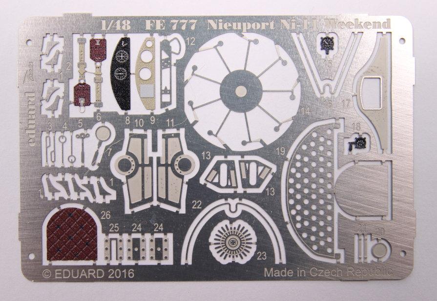 Eduard_Ni-11_Weekend_2016_Zoom_02 Nieuport Ni-11 - Eduard Weekend Edition 1/48 - BAUSATZ UND ZUBEHÖR