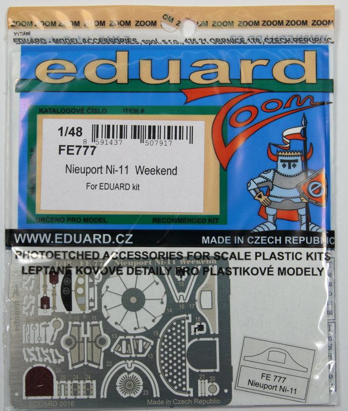 Eduard_Ni-11_Weekend_2016_Zoom_05 Nieuport Ni-11 - Eduard Weekend Edition 1/48 - BAUSATZ UND ZUBEHÖR