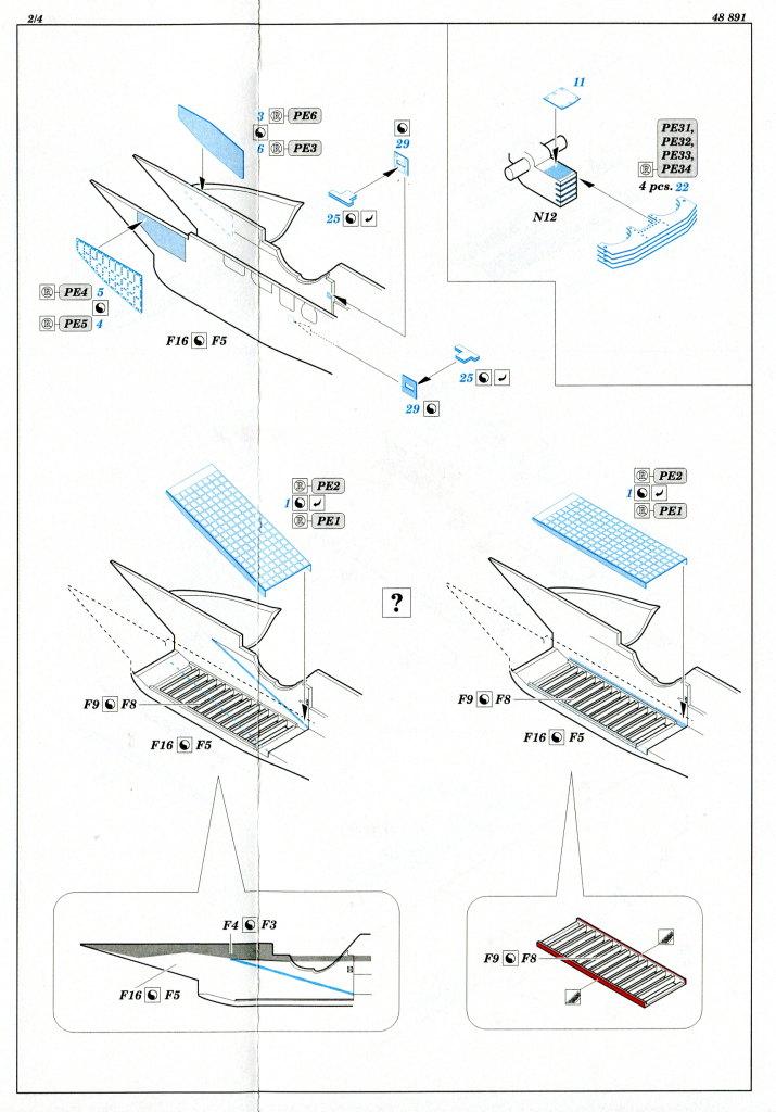 Eduard_SU33_Exterieur_10 Zubehör zur neuen Kinetic Su-33 - Interieur, Exterieur, Mask - Eduard 1/48