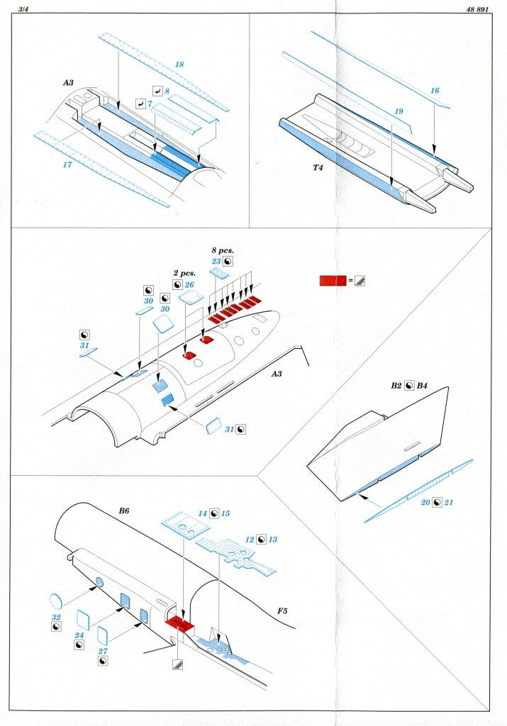 Eduard_SU33_Exterieur_11 Zubehör zur neuen Kinetic Su-33 - Interieur, Exterieur, Mask - Eduard 1/48
