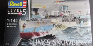 HMCS Snowberry Flower Class Corvette in 1:144 von Revell (# )