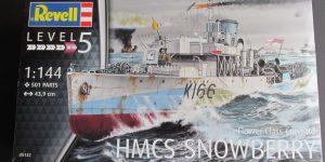 HMCS Snowberry Flower Class Corvette in 1:144 von Revell (# )