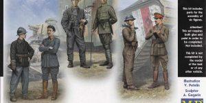 Tankmen of WorldWar One ( Master Box # 35134 )