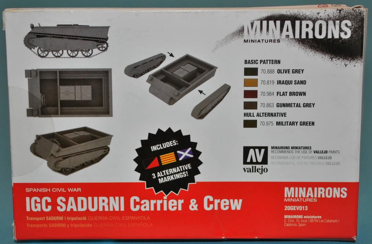 Minairons-20GEV013-IGC-Sadurni-Artillerieschlepper-7 spanischer IGC SADURNI Artillerieschlepper (Minairons 1:72 # 20GEC001)