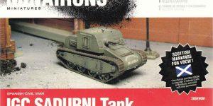 spanischer IGC SADURNI Panzerwagen (Minairons 1:72 # 20GEV001 )