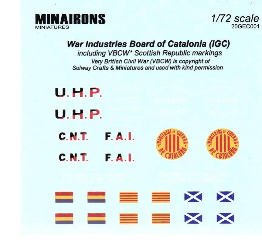 Minairons-IGC-Sadurni-Tank-8 spanischer IGC SADURNI Artillerieschlepper (Minairons 1:72 # 20GEC001)