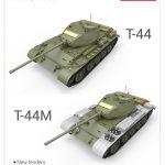 MiniArt-T-44-T44M-Unterschiede-10-150x150 T-44M von Mini Art (1:35 # 37002)
