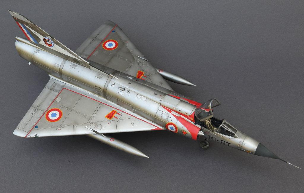 Mirage_IIIC_01 Galerie - Mirage IIIC - Eduard 1/48