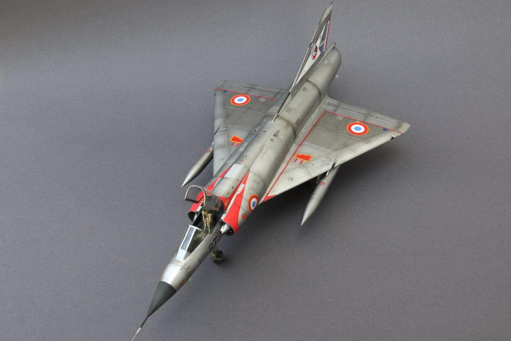 Mirage_IIIC_05 Galerie - Mirage IIIC - Eduard 1/48