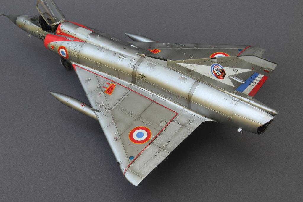Mirage_IIIC_06 Galerie - Mirage IIIC - Eduard 1/48