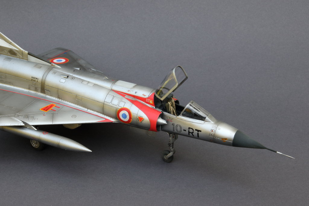 Mirage_IIIC_08 Galerie - Mirage IIIC - Eduard 1/48