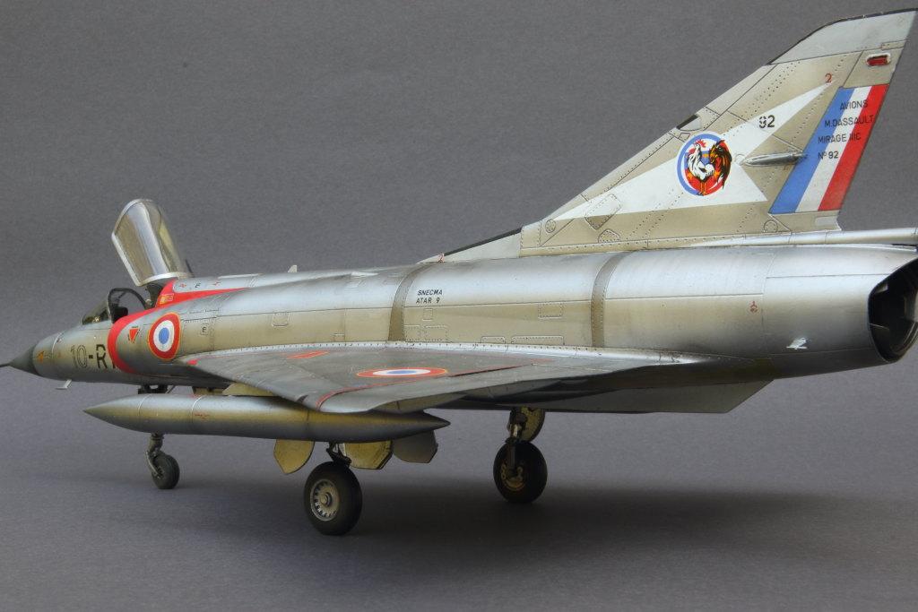 Mirage_IIIC_12 Galerie - Mirage IIIC - Eduard 1/48