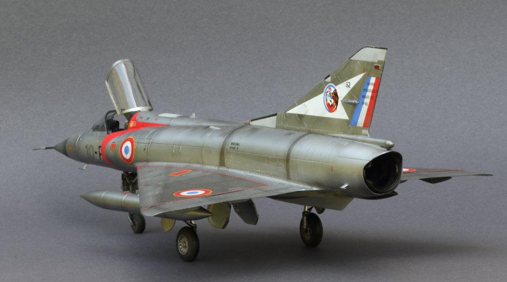 Mirage_IIIC_17 Galerie - Mirage IIIC - Eduard 1/48