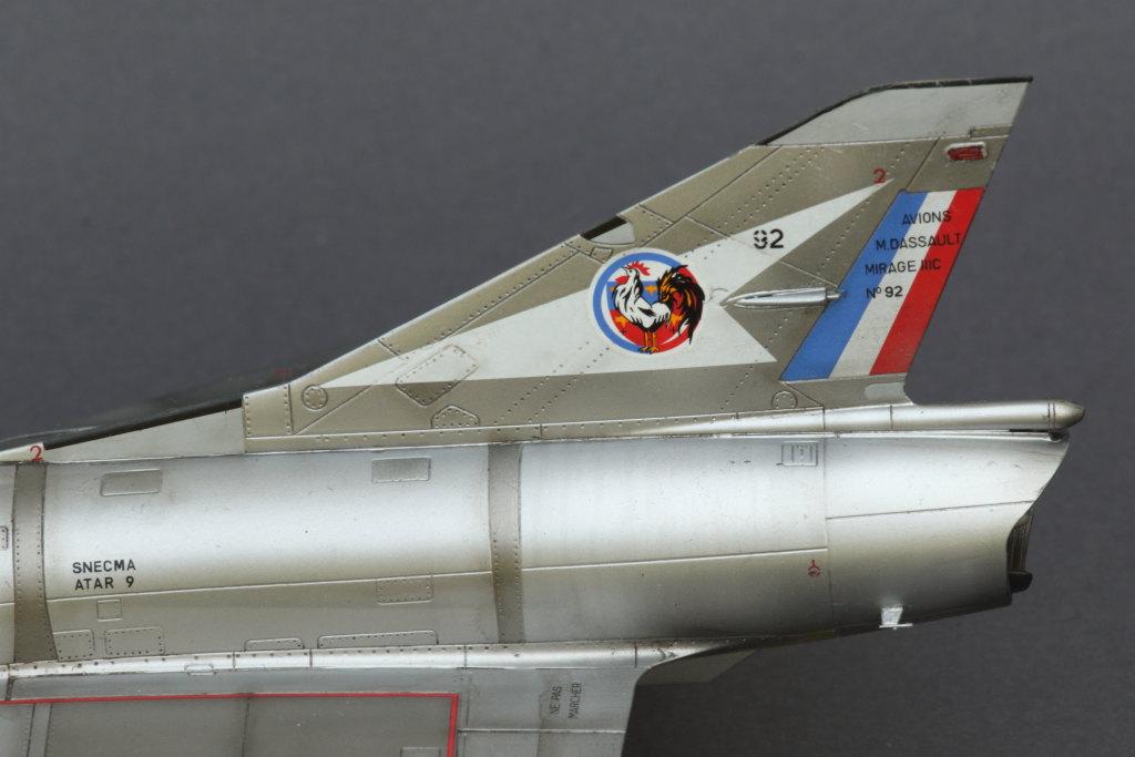 Mirage_IIIC_22 Galerie - Mirage IIIC - Eduard 1/48