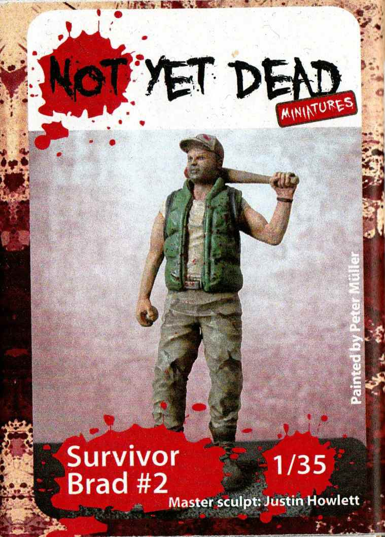Not-Yet-Dead-Miniatures-Survivor-Brad-2-5 Survivor Brad ( Not Yet Dead Miniatures # NYD-S011) 1:35