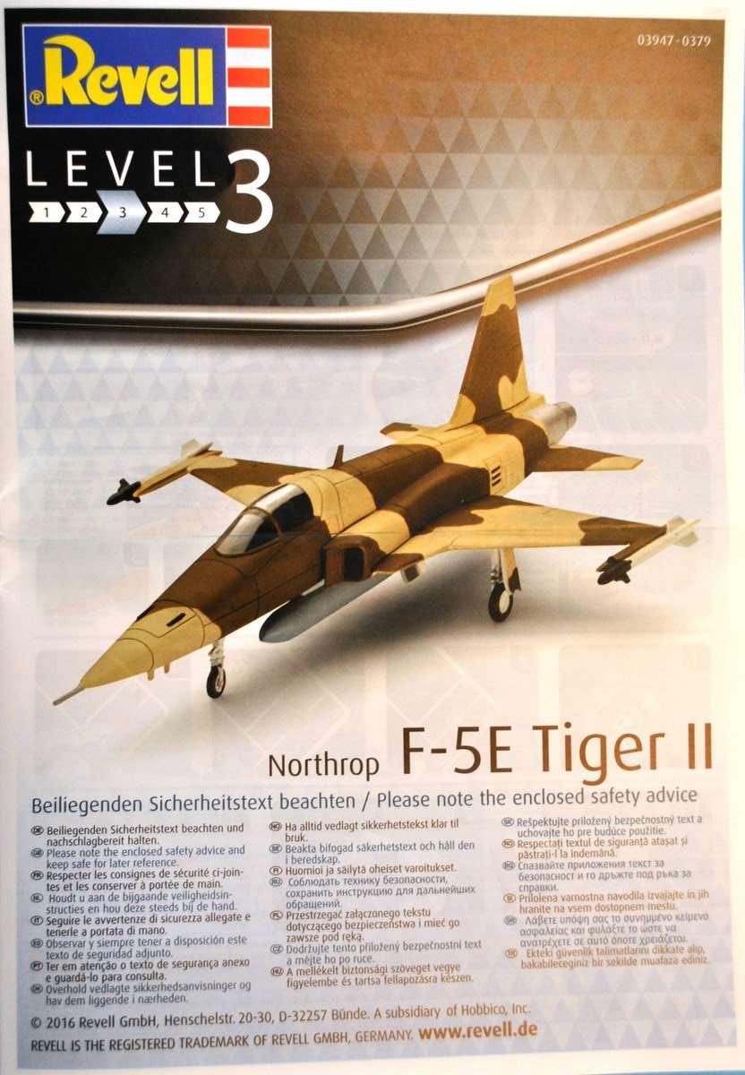 Revell-03947-Northrop-F-5E-Tiger-II-19 Northtrop F-5E Tiger II im Maßstab 1:144 von Revell 03947